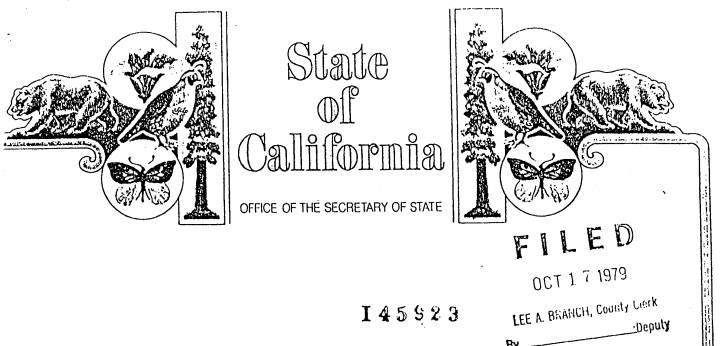 State of California Letterhead